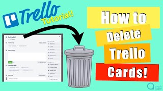 Trello How to Delete a Card - The fast way! (No archiving required)
