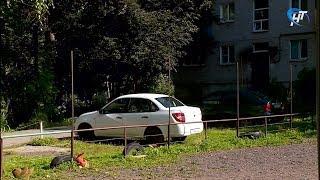Действует ли в Великом Новгороде запрет на парковку на газонах?