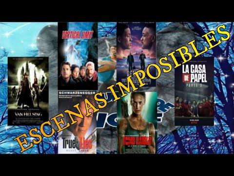 Escenas de películas imposibles para un ser humano