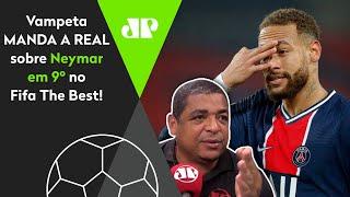 Vampeta manda a real sobre a Fifa e a ausência de Neymar entre finalistas do The Best