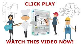 TTS Sketch Maker Text To Speech Whiteboard Video Maker