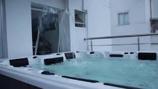 TROPICANA (Тропикана) 3,28*2,22*0,93 от компании Comfort SPA - бассейны и СПА бассейны, комплектация зон отдыха - видео