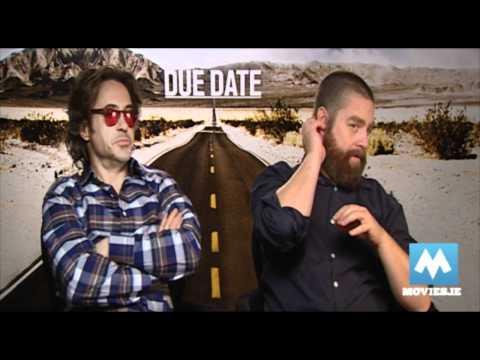Robert Downey Jr & Zach Galifianakis talk DUE DATE