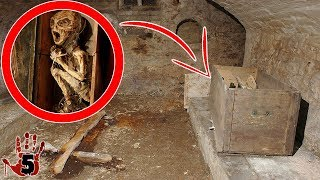Top 5 Scary Things Found In Peoples Basements