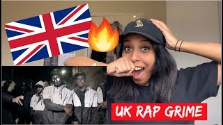 CANADIAN FIRST REACTION TO UK RAP MUSIC DRILL:GRIME Ft  Fredo, CB & Skengdo X AM
