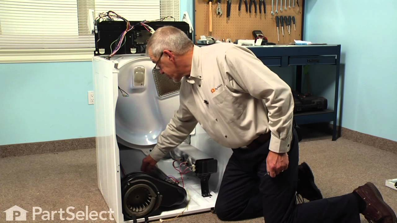 Replacing your Kenmore Dryer Roller Support Tri-Ring