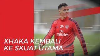 Emery Ungkapkan Alasannya Kembali Percayakan Zhaka ke Skuad Utama Arsenal