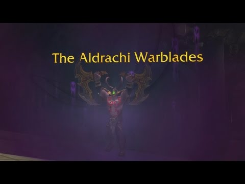 The Story of Aldrachi Warblades