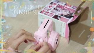 Fujifilm Instax Mini 8 Instant Polaroid Camera (PINK) Review!