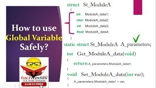 How to use Global Variables Safely | Global Variables in C