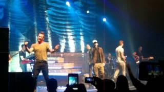 5ive singing Got the Feelin, Oxford New Theatre, 5th Dec 2013