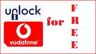 Unlock Vodafone Phone - Free Vodafone Network Sim Unlock Code
