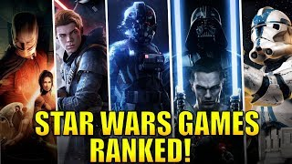 Ranking Star Wars Games from Worst to Best!