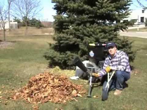 Wood Chipper Videos Leaf Vacuum Blowers Lawn Care