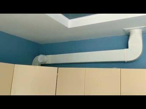 Фото Работоспособность вентиляционного канала с обратным клапаном.