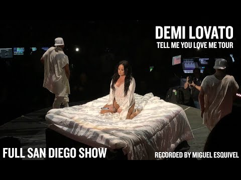 Demi Lovato - Tell Me You Love Me Tour (Full Show) Opening Night [San Diego] RE-UPLOAD