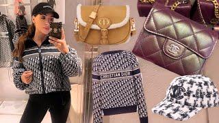 Pre-Christmas Luxury Winter Shopping in London   Chanel, Dior, Louboutin, Gucci, Fendi at Selfridges