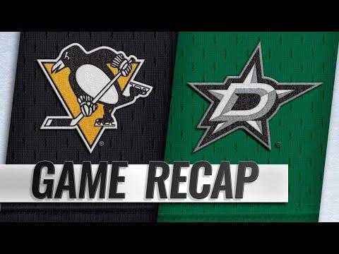 McCann scores twice as Penguins edge Stars, 3-2