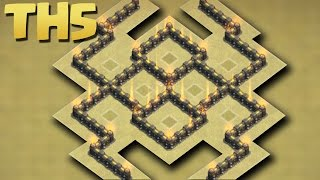 Clash of Clans - Town Hall 5 (TH5) War Base Aug 2016