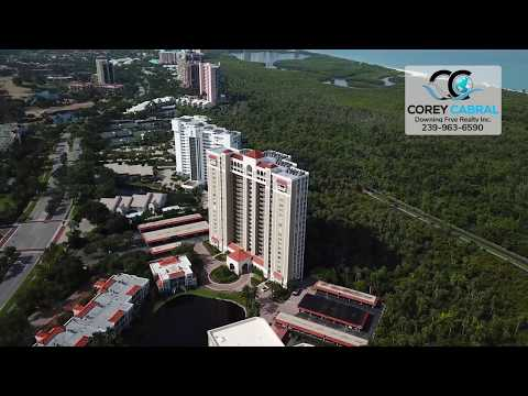 Pelican Bay St. Kitts Naples Florida 360 degree video fly over