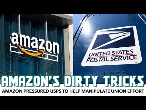 Report Proves Amazon Pressured USPS To Help Manipulate Union Effort