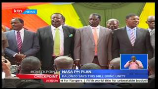 Wiper leader Kalonzo Musyoka roots for the creation of prime minister's post in NASA