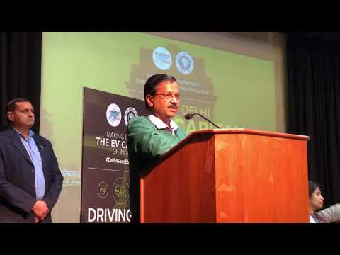 Delhi CM Presented India's First ever E-Vehicle Policy to Reduce Carbon Emissions