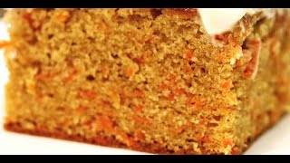 simple carrot cake recipe without baking powder