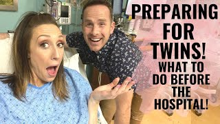 Preparing for TWINS! What to do BEFORE baby (babies) come!