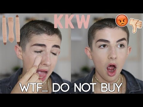 Seriously Kim?! KKW Beauty Contour Kit Honest Review / Tutorial