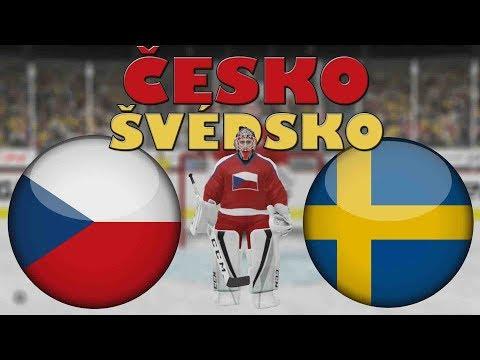 ČESKO - ŠVÉDSKO | MS 2019 | NHL 19 | CZ/SK