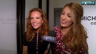 Blake Lively Dishes on Valentine's Day Gifts for Her Kids at Michael Kors Show