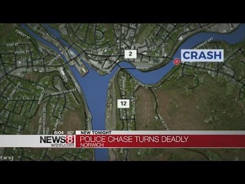 Man killed during police chase in Norwich