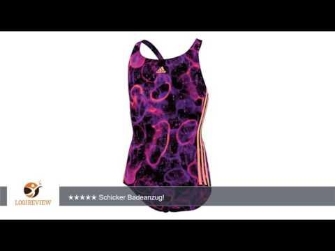 Adidas I M3S 1PC Y Kinder Mädchen Schwimmer Badeanzug Schwimmanzug Navy/Night Flash S22996 |