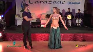 تحميل و مشاهدة زوجين تركيين يرقصان على ايقاع الطبلة المصرية رقص شرقي في مهرجان تارازاد التركي MP3