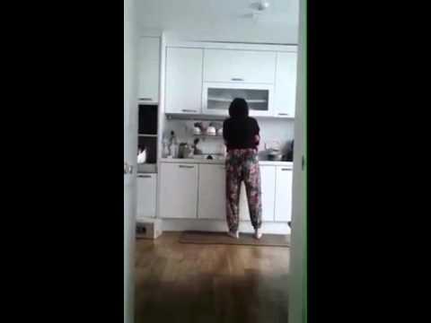 엉덩이춤추는아줌마