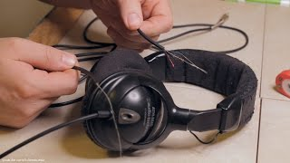 How to Solder Headphone Cords Back Together