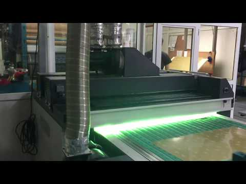 Mailander 140 single colour printing line with UV-oven   Cazander