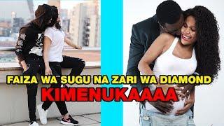 Angalia FAIZA ALLY Wa SUGU Alivyo Kinukisha Kwa ZARI  Wa DIAMOND Ni Nomaaaaaa