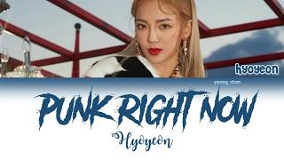HYO & 3LAU   Punk Right Now (Korean Ver.) Lyrics