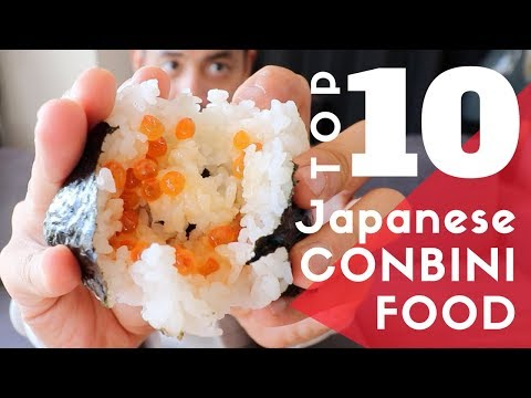 TOP 10 Must-Try FOOD in a JAPANESE Convenience Store