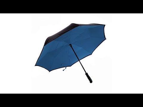 BetterBrella Deluxe Reverse Open and Close Umbrella
