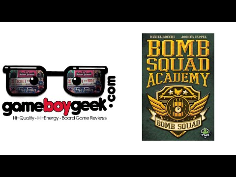 The Game Boy Geek Reviews Bomb Squad Academy