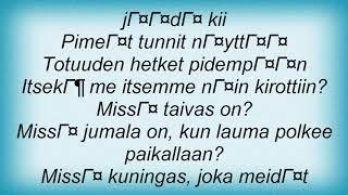 Apulanta - Jumala Lyrics
