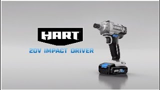 HART 20V Impact Driver