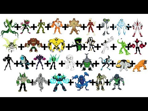 Ben10 Fusion Fan Art 32 to one #25