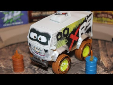 Mattel Disney Cars 3 XRS Arvy (Xtreme Mud Racing/Off-Road Deluxe)