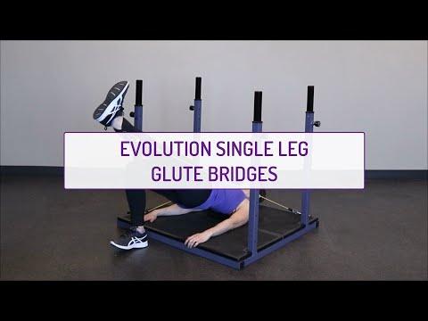 Evolution Single Leg Glute Bridges