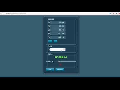 Calculadora Javascript HTML5