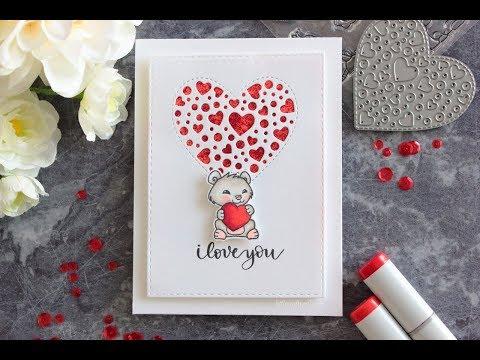 Simple Valentineu0027s MINI CARD